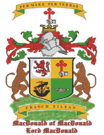 ‪‪Serfaus‬, النمسا: MacDonald Clan, Coat of Arms‬