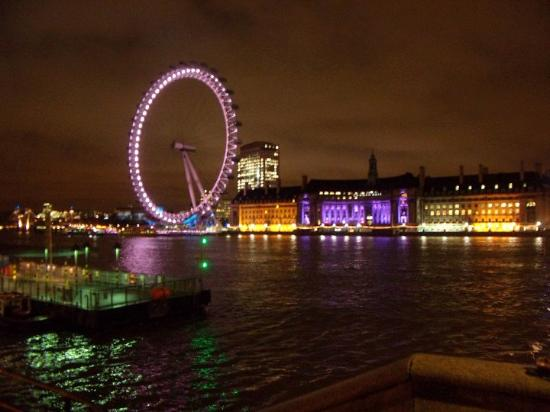 River Thames at night - Picture of Thames River, London