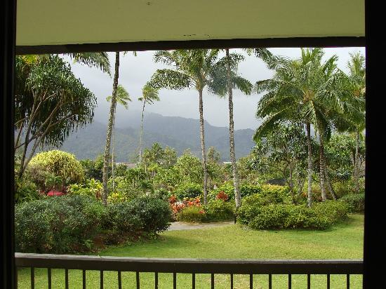 Hanalei Bay Resort: Balcony view from unit 1205