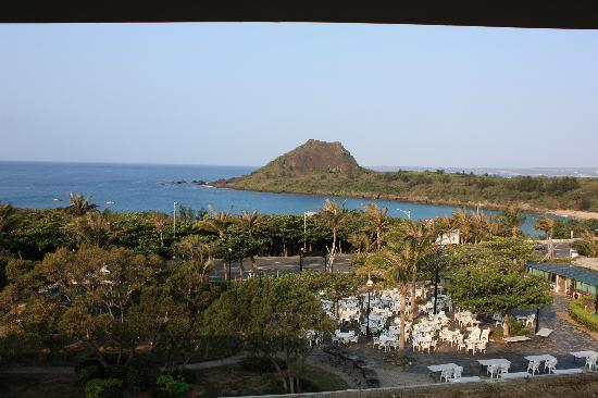 Howard Beach Resort Kenting: view from our room