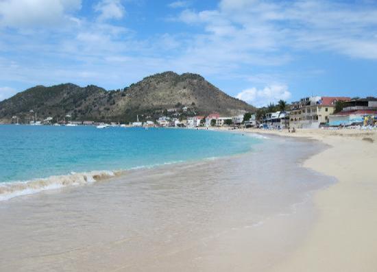 Hotel L'Esplanade: Grand Case beach