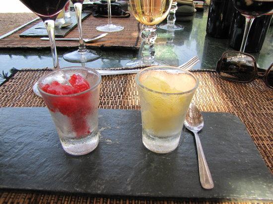 Bistro La Tupina: Refreshing Sorbet