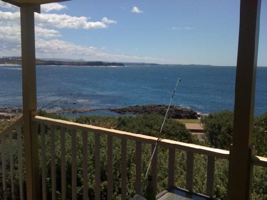 Kiama, Australien: The view from our verandah
