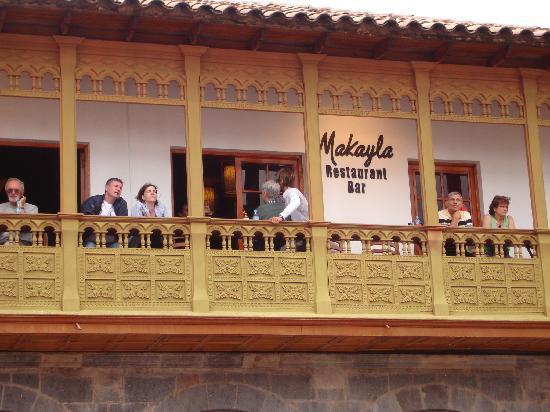 Makayla Restaurant & Bar : el balconn!!!!!! una vista privilegiada