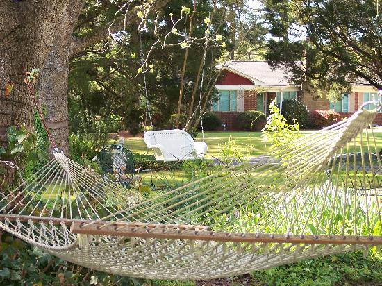 Big Mill Bed and Breakfast: Hammock heaven