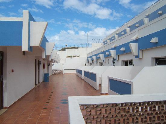 Hotel Club Al Moggar : vue des chambres