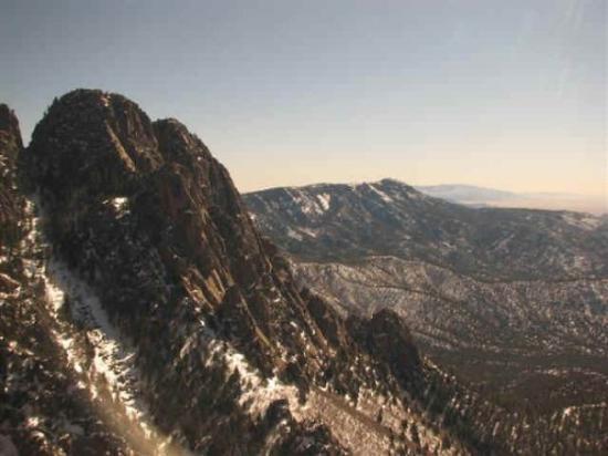 Albuquerque, Nouveau-Mexique : Sandia Peak - elevation 10,378 ft