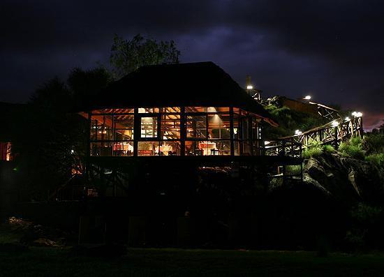 Hochland Nest: Hochland Nest at Night