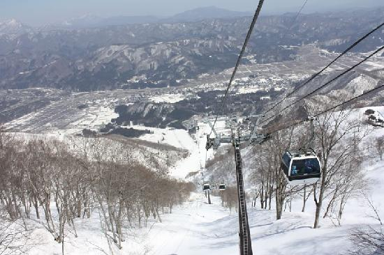 Aqua Alpine Hakuba : Gondola to the top of the mountain