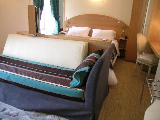 Domaine du Breuil: la chambre