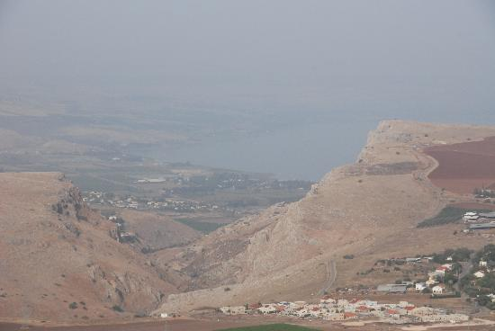 Galilee, Israël: jesus trail 2