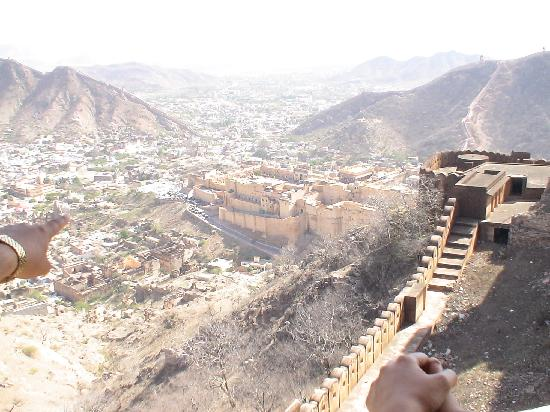 Hotel Laxmi Niwas: Scenic Jaipur