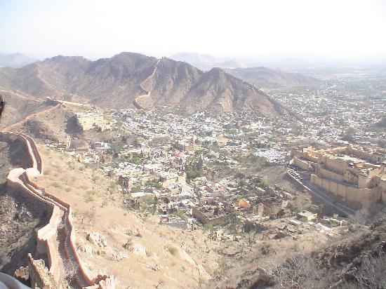 Hotel Laxmi Niwas: Jaipur Panorama