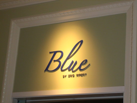 Blue By Eric Ripert : Entry to Blue