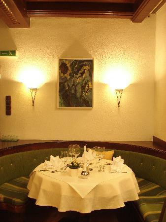 Gasthof Einhorn Schaller: Tisch im Nichtraucherstüberl