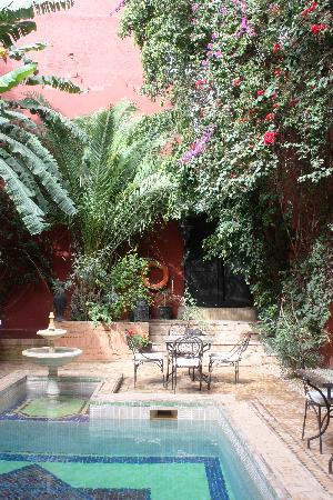 Les Jardins d'Henia : la piscine