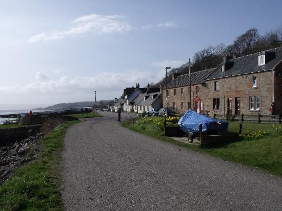North Kessock Hotel: North kessock Village from the east