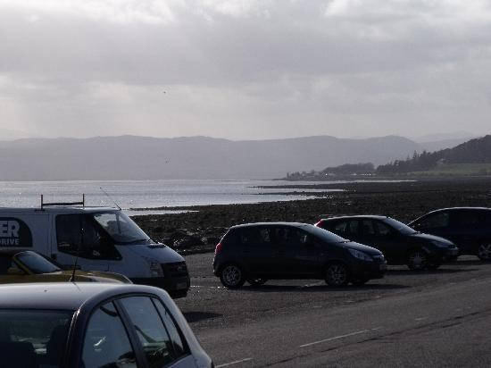 North Kessock Hotel: Looking west from the hotel