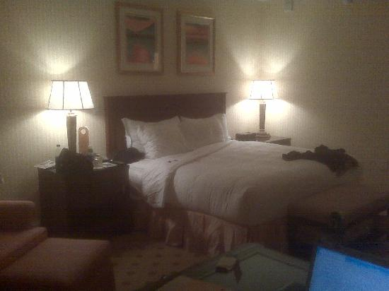 The Ritz-Carlton, Dallas: bed desk seating