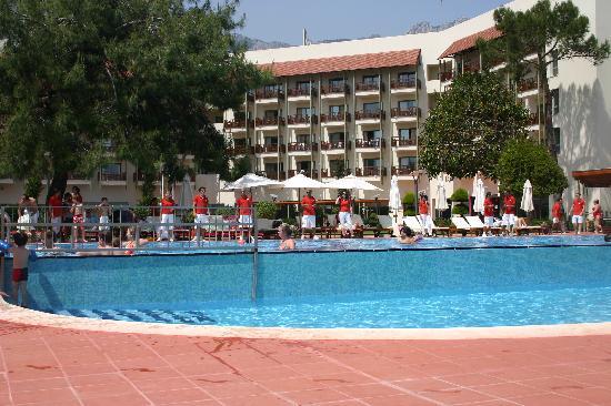 Club Med Palmiye: Hotel piscine