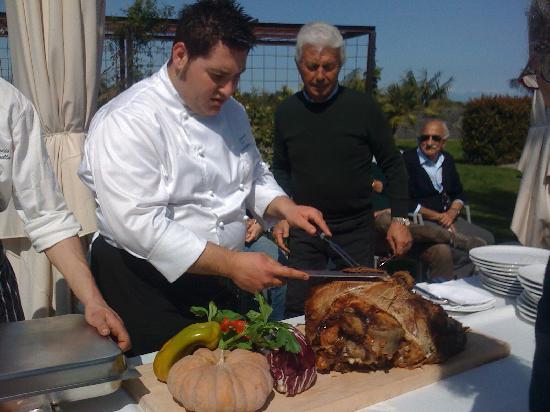 Carruba, Włochy: ottima carne