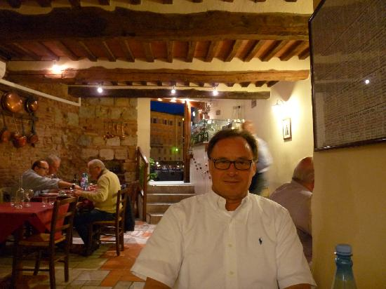 Osteria La Mossa : While dining