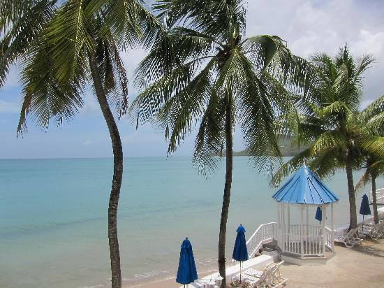 Villa Beach Cottages: View from balcony