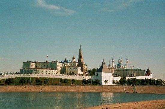 le kremlin de Kazan (Tatarstan)