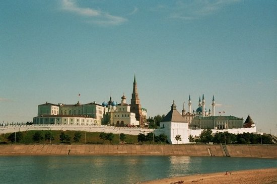 قازان, روسيا: le kremlin de Kazan (Tatarstan)