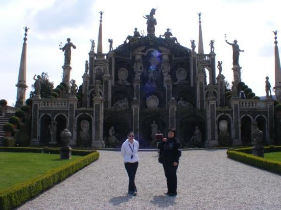 Baveno, İtalya: giardini di isola bella (gardens of the Beautifull Island) -Borromean Islands