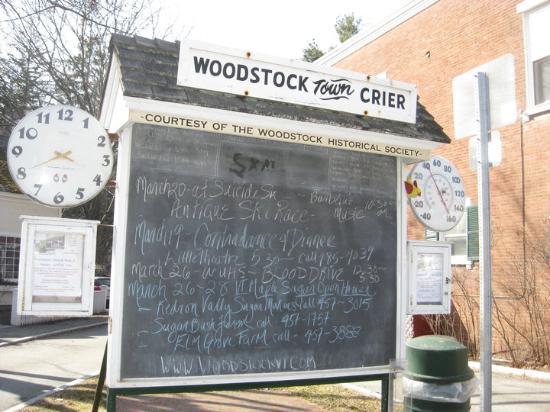 Woodstock Town Crier: town crier