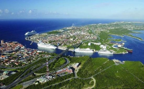 Willemstad, Curaçao: Eland of Curacao. Dutch Caribbean... It's all result of the Vulcan, yup Amazing