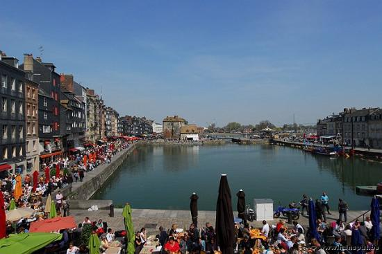 Harbor of Honfleur
