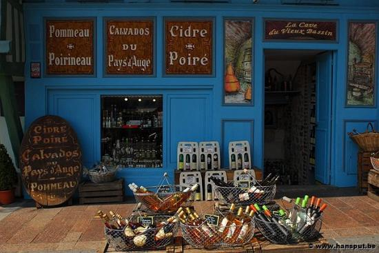 Wine shop Honfleur