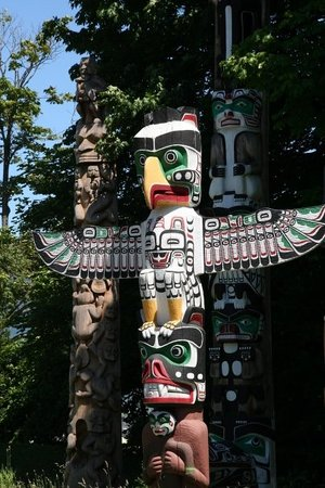 Brockton Point Totem Pole