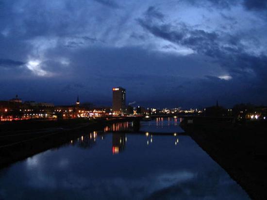 Neckar bei Mannheim / River
