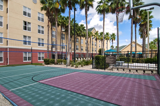 Homewood Suites by Hilton Orlando-UCF Area: Take a break from work and pick up a quick game of basketball or volleyball on our Sport Court