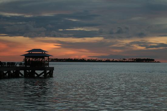 Wakatobi Dive Resort : View toward the Jetty Bar