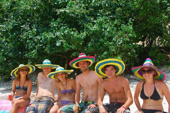Castaway Island: Happy tourist