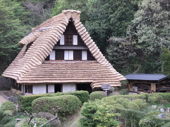 Kawasaki, Japan: quaint old house