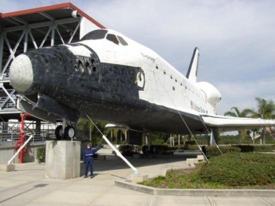 Cape Canaveral, FL: old shuttle