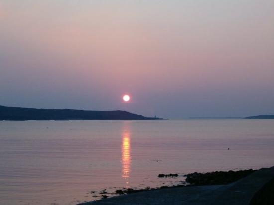 Irlanda, tramonto a Clifden