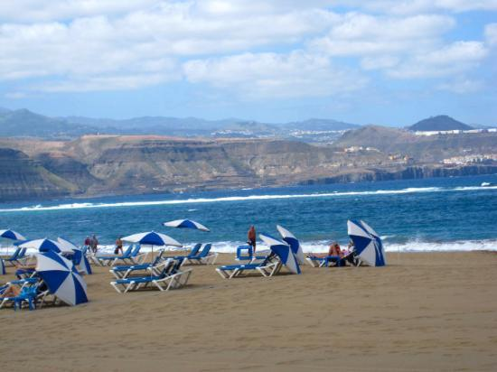 Playa de Las Canteras: Las Canteras beach