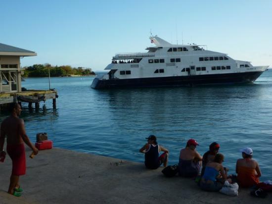 Departing Culebra, Puerto Rico