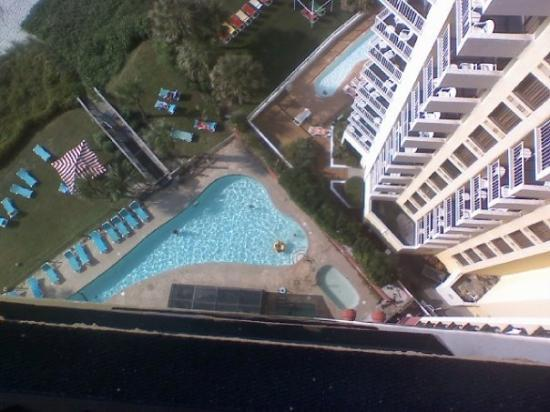 Myrtle Beach, SC: Obviously I did not take this pic.....it was the view from our room a thousand floors above the