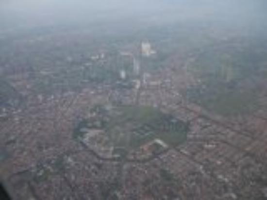 Surabaya, Indonesia..dari atas Sriwijaya Air.