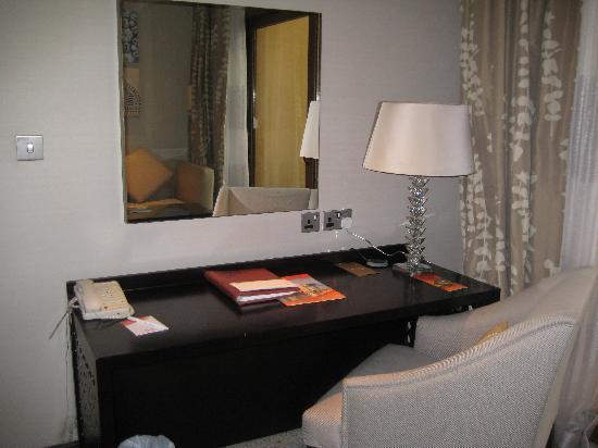 Hotel Room Desk Picture Of Hilton Ras Al Khaimah Resort