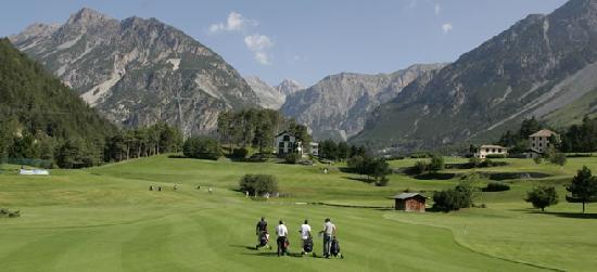 Hotel Baita dei Pini: Il Golf di Bormio