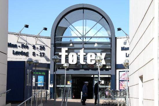 Fötex shopping mall around the corner - Picture of Lautruppark Hotel, Copenhagen - TripAdvisor
