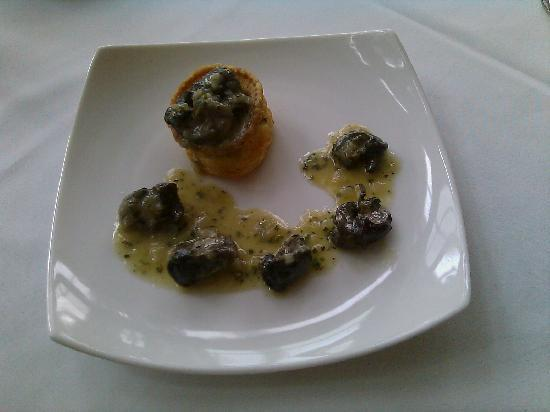 Four Chimneys Inn: Escargot